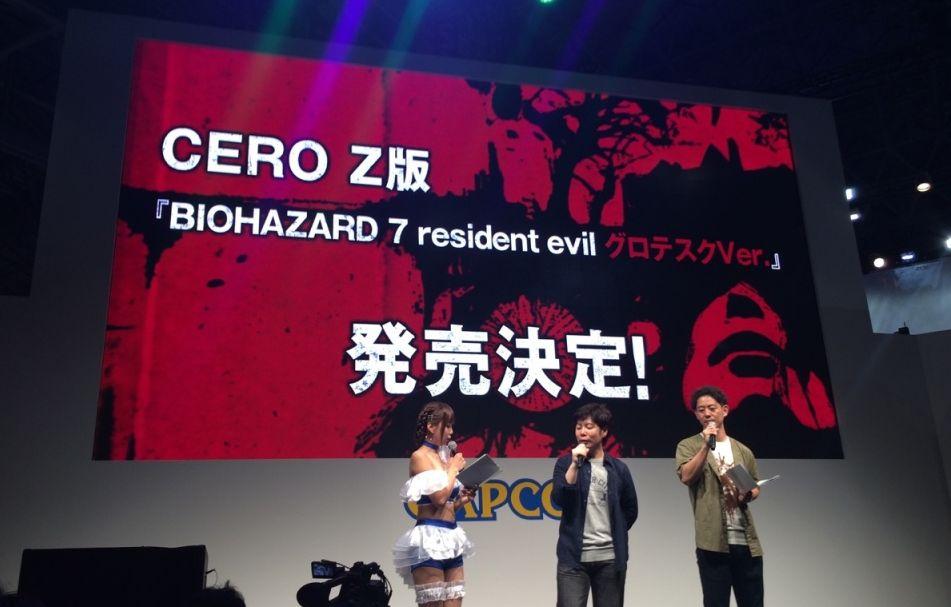 【TGS16】《Biohazard 7》分做「血腥/普通」版!驚見主角「食屍」場面!