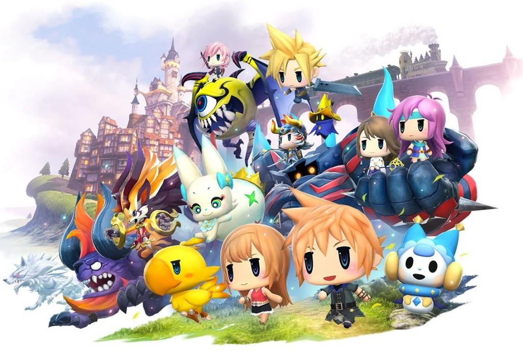 【無限FF】《World Of Final Fantasy》地城試玩版配信中!留記錄送魔導甲