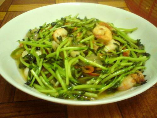 taugeh hijau goreng onie s kitchen   myresipi