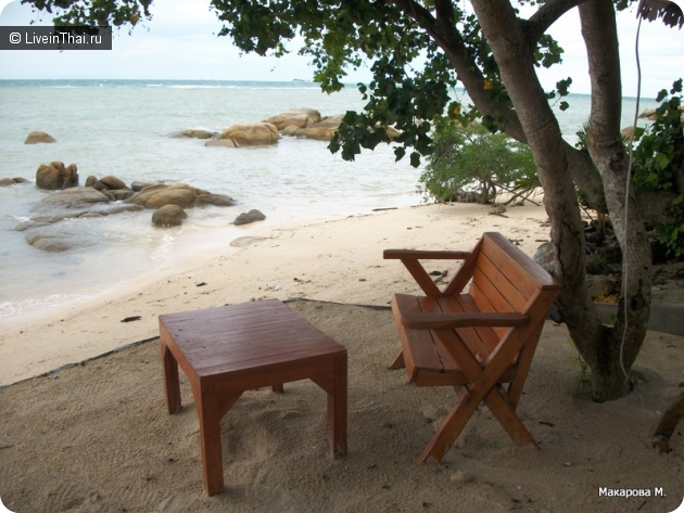 пляж AO plai laem