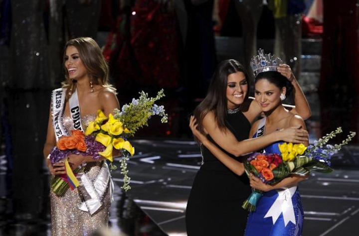 Miss Australia: Teleprompter showed Pia Wurtzbach won Miss Universe