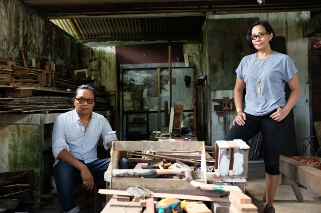 Brisbane-based Filipino artists Alfredo and Isabel Aquilizan's work is one of the highlights of this year's fair. Photo courtesy of Art Fair Philippines.
