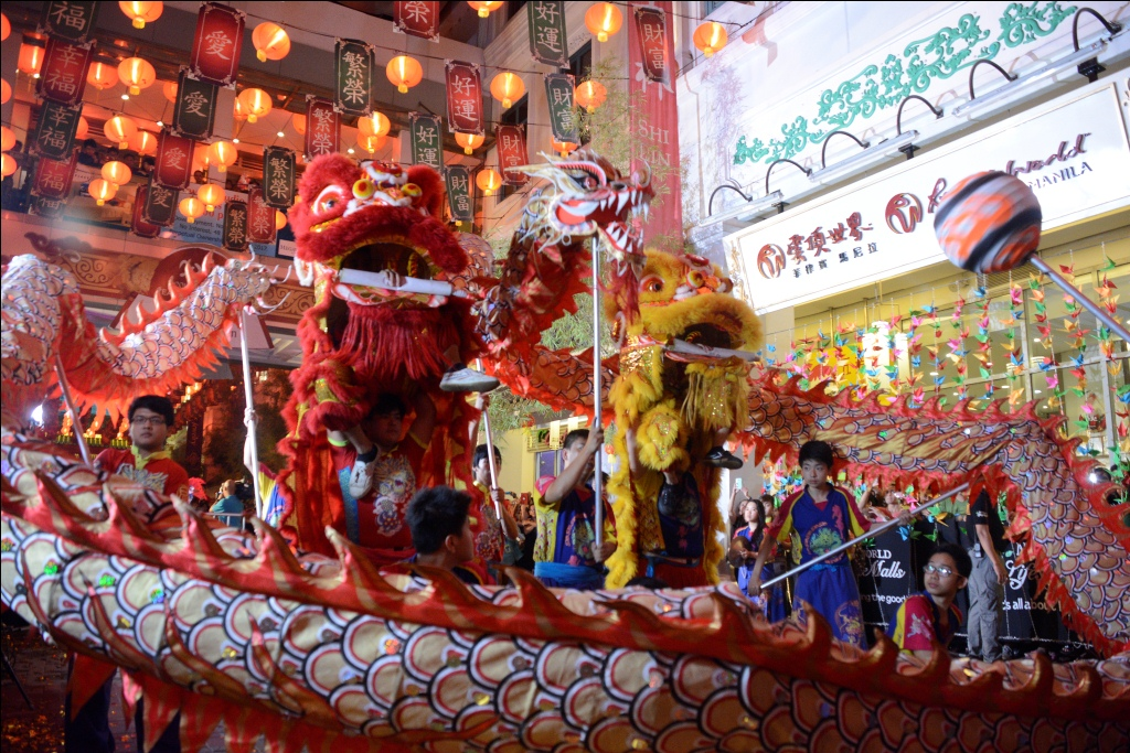 Celebrations begin for Chinese New Year