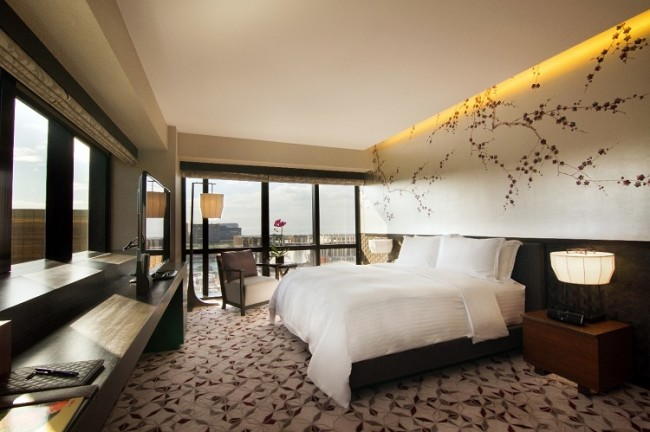 The Nobu Suite at Nobu Hotel at City of Dreams Manila. Photo courtesy of the hotel.