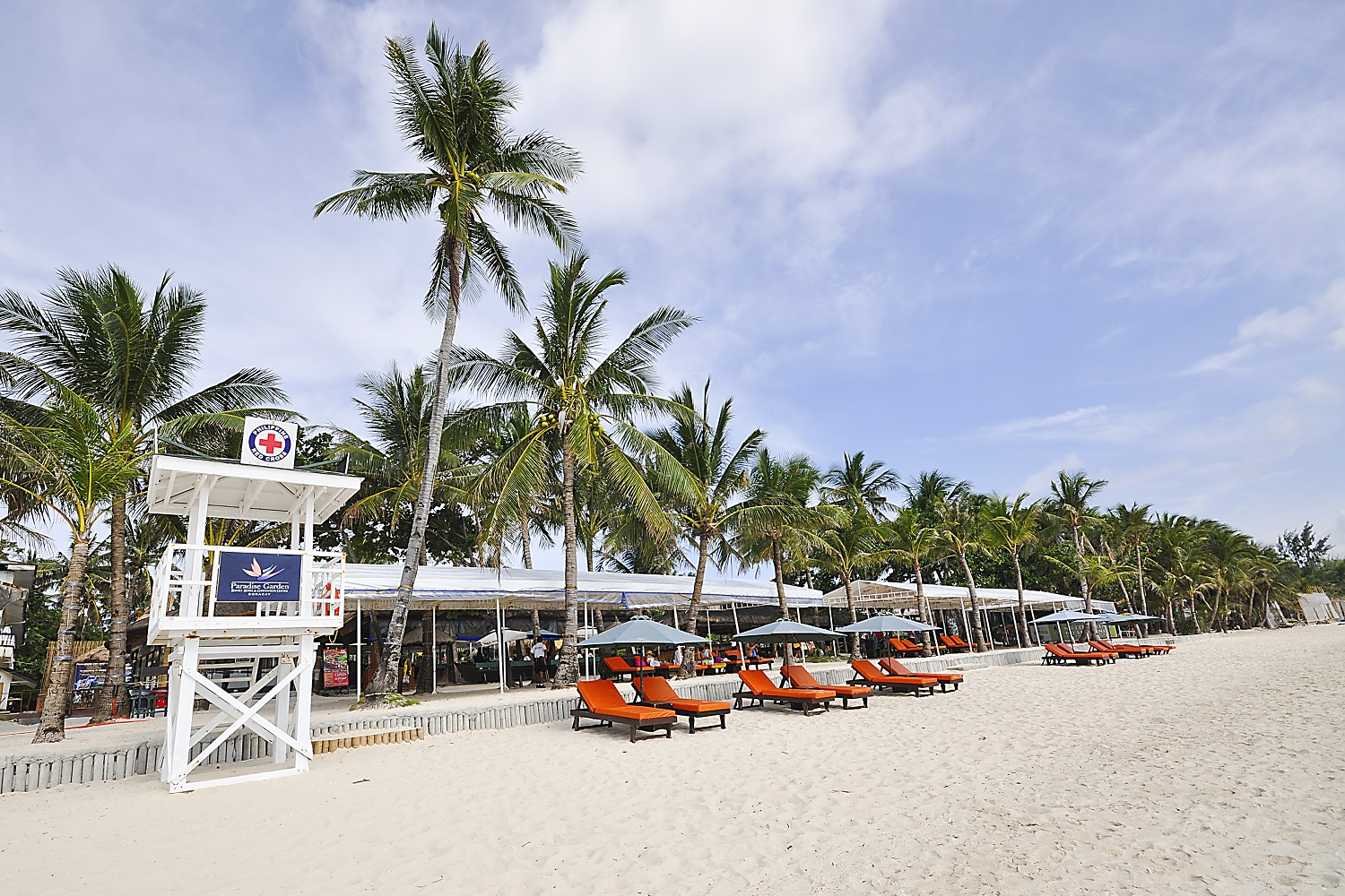 Paradise garden resort hotel and convention center in boracay island