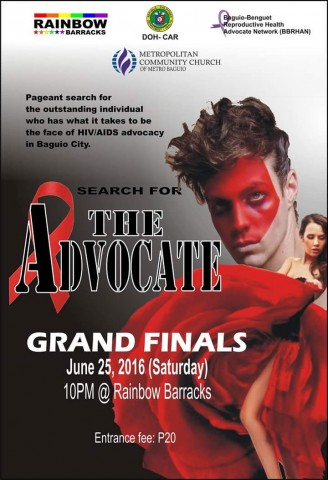 Various organizations from Baguio City have banded together to search for a local ambassador for HIV/AIDS awareness.