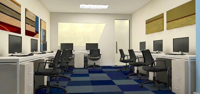 Square One BGC has office spaces that are ideal for small teams. Photo courtesy of Square One BGC.