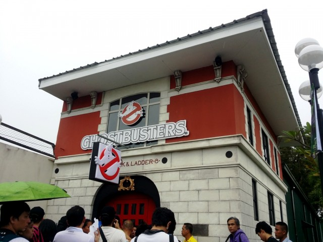 On its 21st anniversary, Enchanted Kingdom launches Ghostbusters Adventure Live!, a spooky yet fun walk-through attraction for families and friends. Photo by Romsanne Ortiguero, InterAksyon.