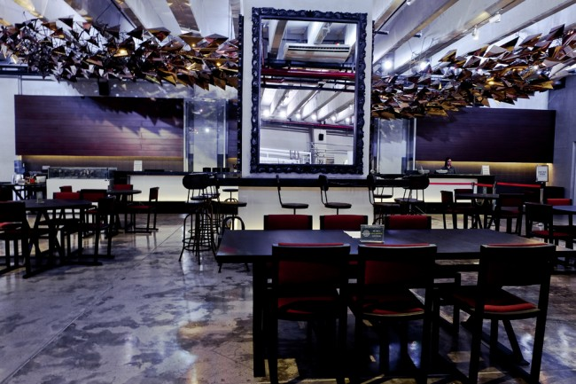 Soma Bistro is a popular place for evening drinks and light eats. Photo courtesy of Hotel at the Green Sun.