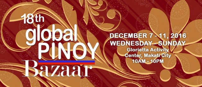 Give your friends and loved ones locally made crafts, clothes, houseware, health and food items at this popular all-Filipino bazaar. Image courtesy of Yabang Pinoy.