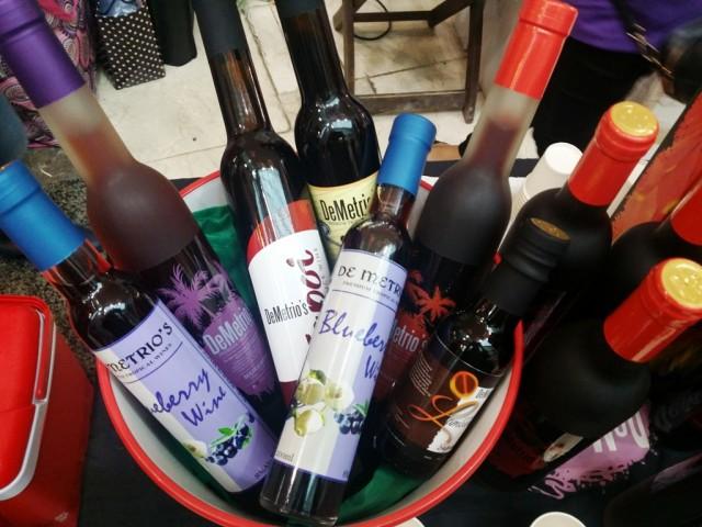 Demetrio's handcrafted wines. Photo by Romsanne Ortiguero, InterAksyon.