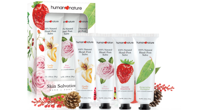 Skin Salvation Trio (Php349.75). Photo courtesy of Human Nature.