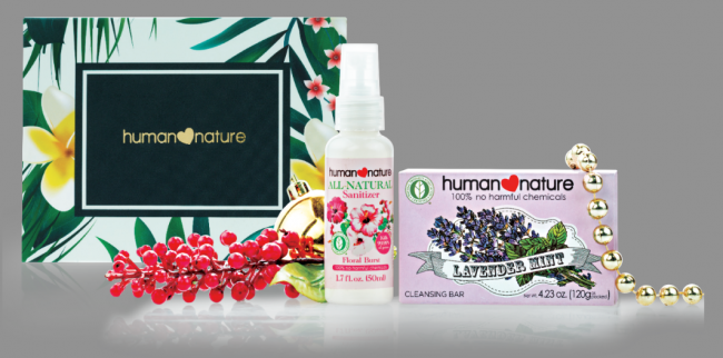 Minty Floral Yule (Php144). Photo courtesy of Human Nature.
