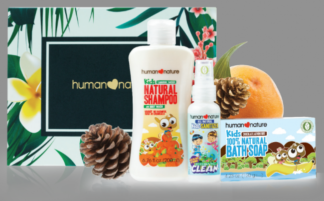 Kiddie Whimsy Kit (Php279). Photo courtesy of Human Nature.