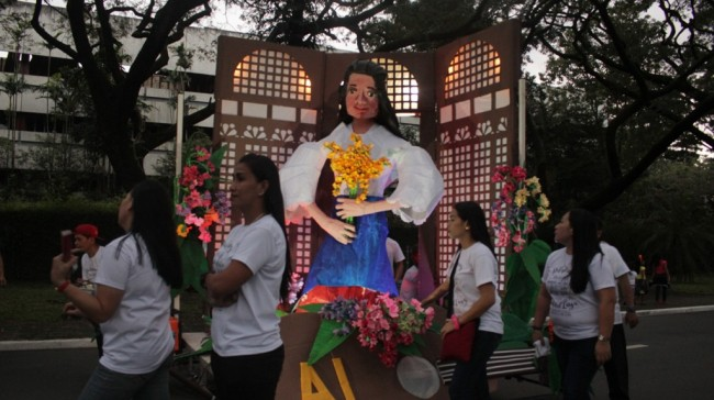 Walang Sugat, a zarzuela, is this year's inspiration for the College of Arts and Letters. Photo by Chad De Guzman, InterAksyon.