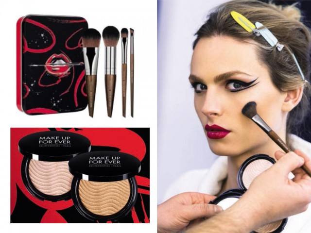 Make Up For Ever's Arty Collection will be loved by your makeup vlog fanatic girlfriend.