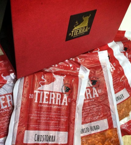Assorted Spanish cold cuts and sausages from Tierra de España. Chow Buzz photo for InterAksyon.