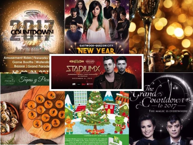 Step out and welcome the year 2017 with the metro's list of grand countdown parties.