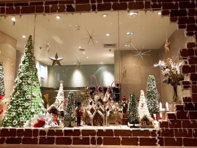 Makati has a lot of surprises fit for everyone this Holiday season. In photo is a gingerbread Christmas display at Fairmont Makati. Photo byRomsanneOrtiguero, InterAksyon.