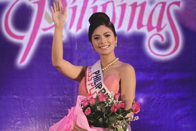 Miss Universe Philippines Maxine Medina is confident of a back-to-back win. Photo by Bernard Testa, InterAksyon.