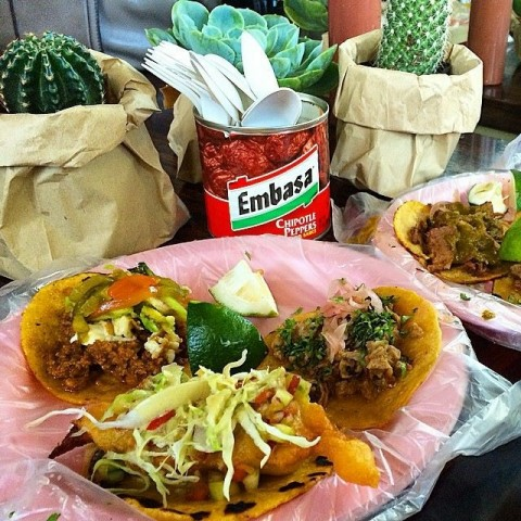 Chef Bruce Ricketts' La Chinesca aims to serve the best tacos in town. Chow Buzz photo for InterAksyon.