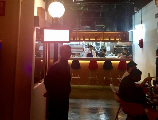 Detail of Chef William Mahi's new 210⁰ Kitchen + Drinkery. Photo courtesy of 210⁰ Kitchen + Drinkery.