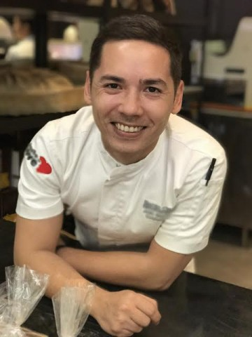 Chef Josh Boutwood. Chow Buzz photo for InterAksyon.