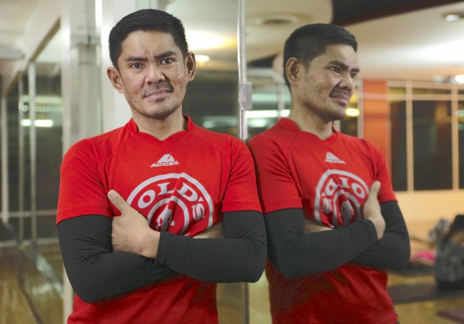 Fitness trainer John Cuay has been training beauty queens over the past years. He has trained Venus Raj, Megan Young, and Pia Qurtzbach to name a few. Photo by Bernard Testa, InterAksyon.