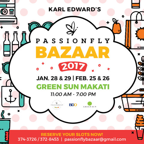 Buy the trendiest products that suit your tastes at this bazaar.Image sourced from Karl Edward International's Facebook page.