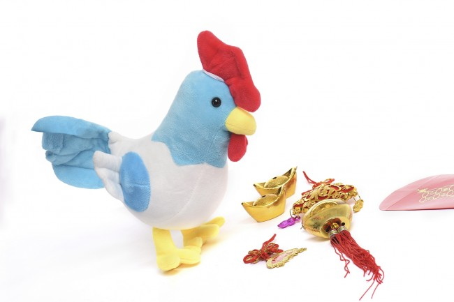 Toy Kingdom and SM Stores celebrate the Year of the Rooster with a limited edition of rooster plush toys. Photo courtesy of SM.