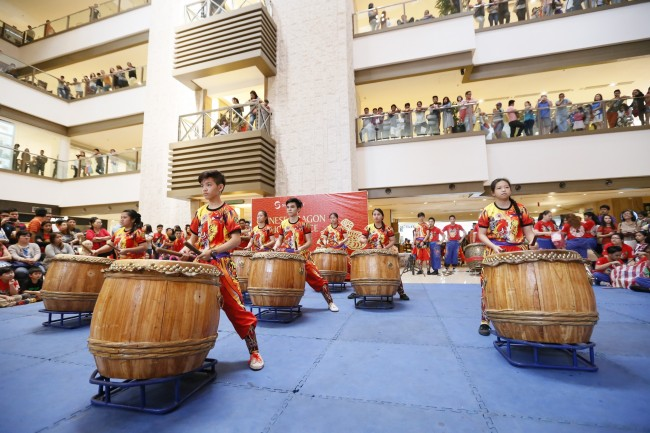 An entertaining wushu performances and other fun-filled activities are in store for mall goers of Shangri-la Plaza as part of its Chinese New Year celebration. Photo courtesy of Shangri-la Plaza.