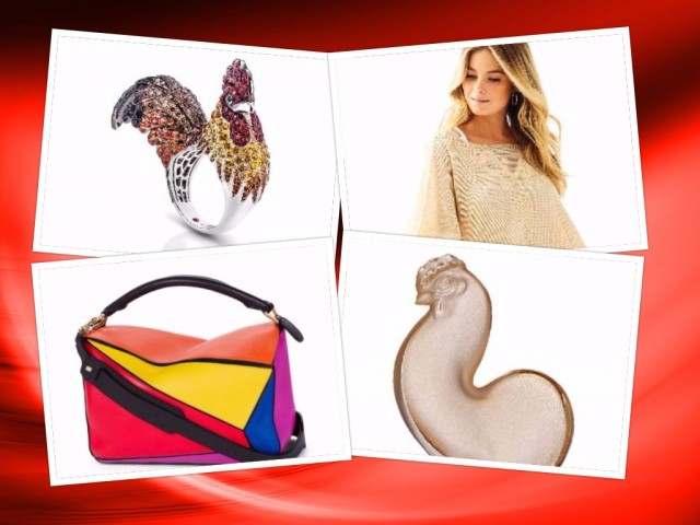 Welcome Chinese New Year with stylish clothes and home accessories in lucky colors or inspired from the Rooster sign. Photos courtesy of Rustan's.