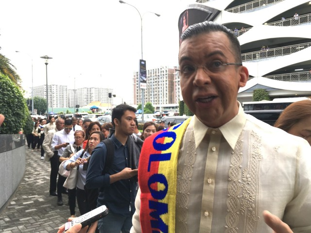Former national director of Miss Universe Colombia Oswaldo Imbachi says the Philippines is a wonderful country. Photo by Neil Francis Portugal, InterAksyon.