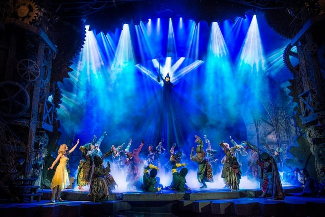The award-winning Broadway musical 'Wicked' is back in Manila. Image source: The Theatre at Solaire's Facebook page.