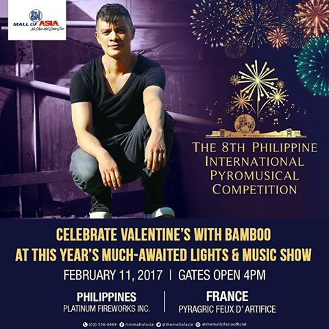Be mesmerized with grand pyrotechnical shows at this event. Image sourced from SM Mall of Asia's Facebook page.
