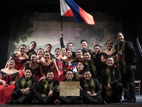 Philippine Madrigal Singers is one of the award-winning choirs in the country. Image sourced from Eastwood City's Facebook page.