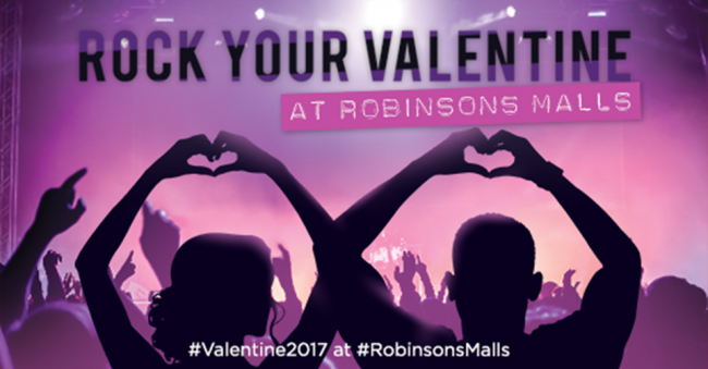 Love is in the air at various Robinsons Malls around the country. Image sourced from Robinsons Malls' Facebook page.