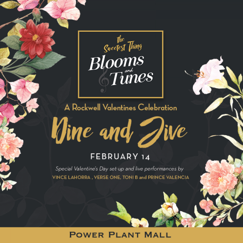 Celebrate heart's day filled with music at this mall. Image sourced from  Power Plant Mall's Facebook page.