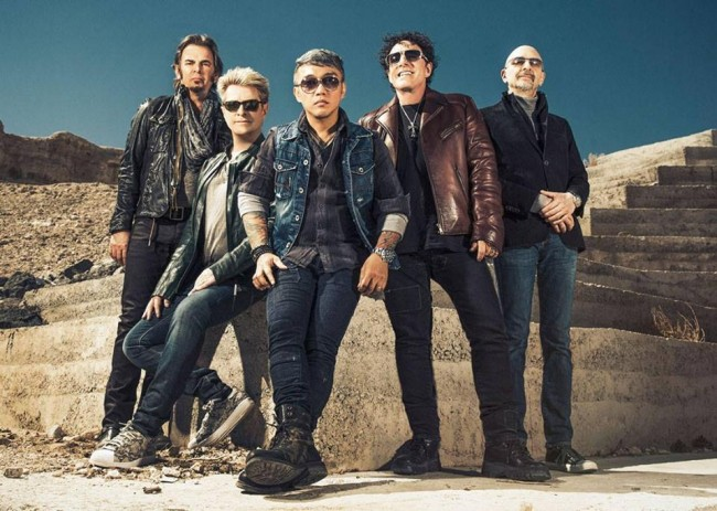Journey, led by Filipino vocalist Arnel Pineda, holds one-night concert in Manila for their fans. Image source: SM Tickets' Facebook page.