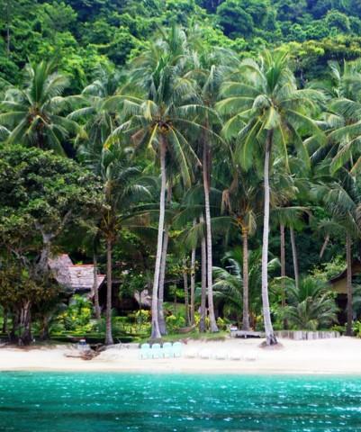 Secluded beach at Port Barton, Palawan. Photo by Jona Branzuela Bering for InterAksyon.