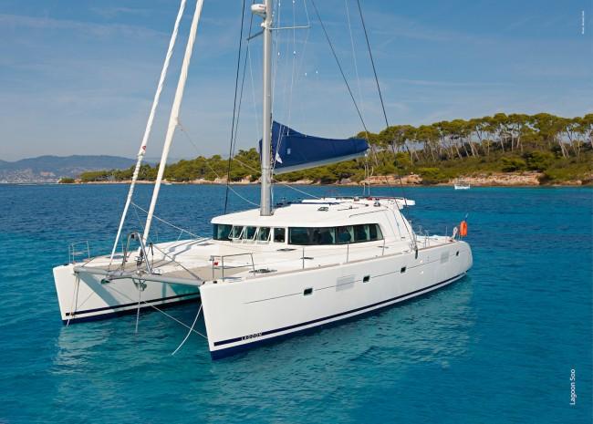 World-class Lagoon Catamaran. Photo courtesy of Headsail Inc.