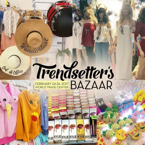 Welcome the summer season with some retail therapy. Image sourced from Trendsetter's Bazaar's Facebook page.