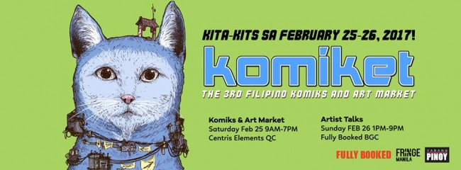 Filipino Komiks and Art Market (KOMIKET) is now on its third year. Image sourced from KOMIKET's Facebook page.