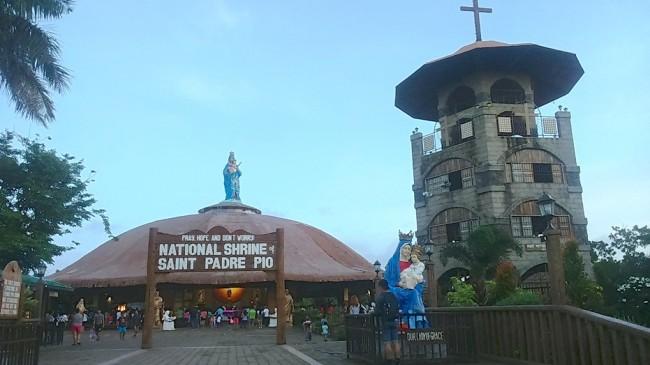 Saint Pade Pio Shrine. Photo by Edwin Galvez/Green Faith Travels.