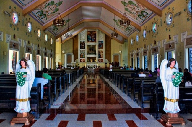 Nuestra Señora de la Soledad in Tanuan City is among the eight churches to be visited by pilgrims of Green Faith Travels during their Visita Iglesia on March 18 in Batangas. Photo by Richard Eusebio/Green Faith Travels.