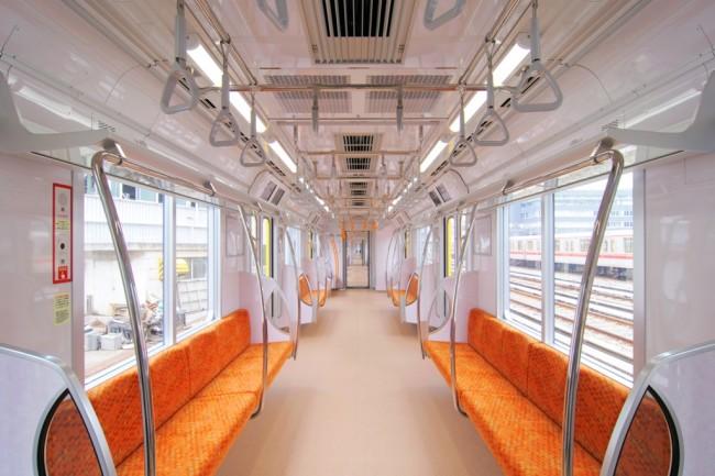 Tokyo Metro has well-lit trains. Photo courtesy of Tokyo Metro.