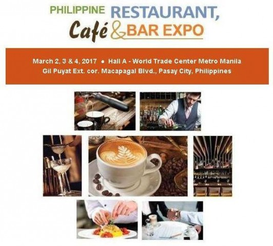 Check out the first staging of this expo dedicated to the restaurant, café, and bar industry. Image sourced from Philippine Restaurant, Café, and Bar Expo's Facebook page.