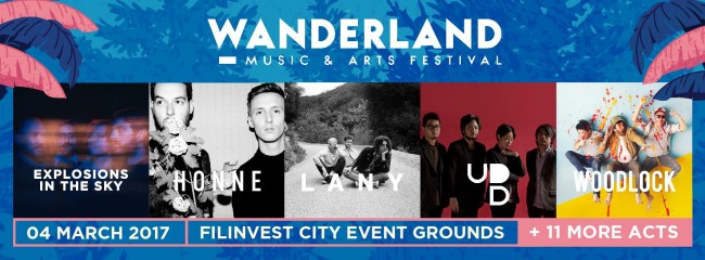Don't miss your chance to be part of this festival, which has become one of the most awaited music events in the Philippines. Image sourced from Wanderland's Facebook page.