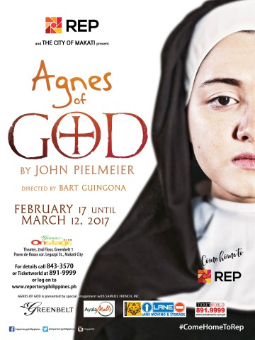 Repertory Philippines presents this dramatic work by American playwright John Pielmeier. Photo from www.repertoryphilippines.com.