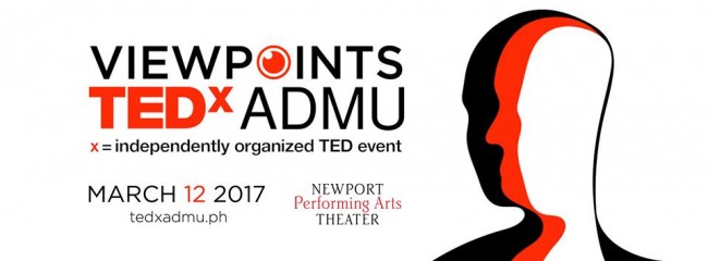 Hear innovative ideas and spark conversations by attending this conference, which is now on its fifth installment. Photo sourced from TEDxADMU's Facebook page.